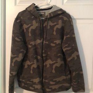 Men's camo hoodie EXPRESS